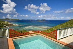 st john virgin island CasaDeSuenos Pool View