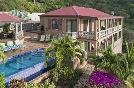 Villa Madelinest view john virgin islands vacation rentals