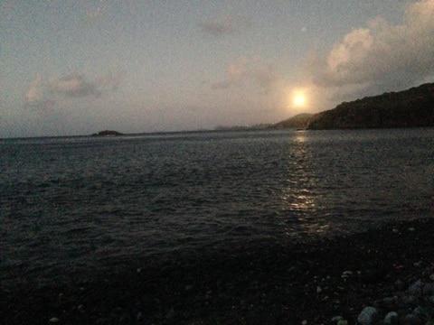 Full Moon Ram's Head Trail St. John