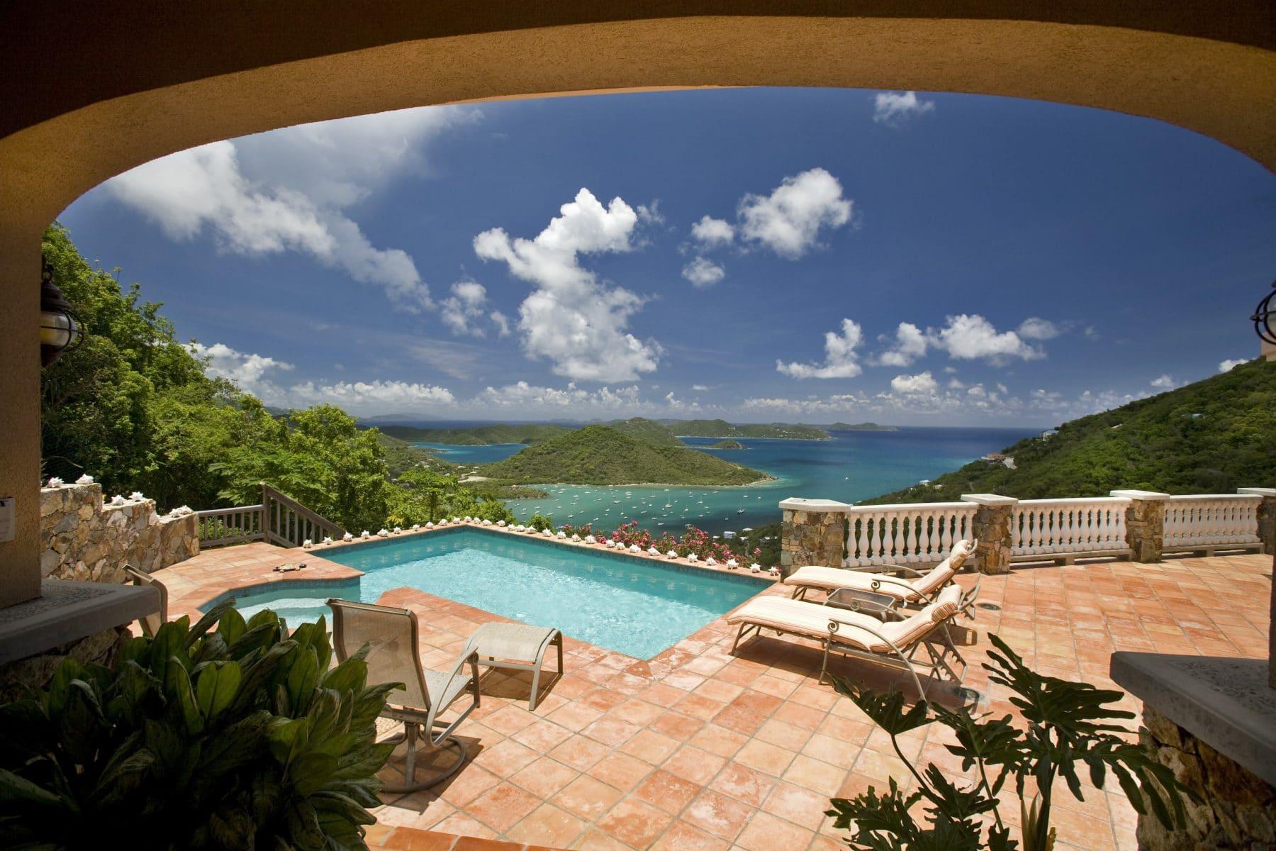 virgin islands vacation rentals PalladiosViews
