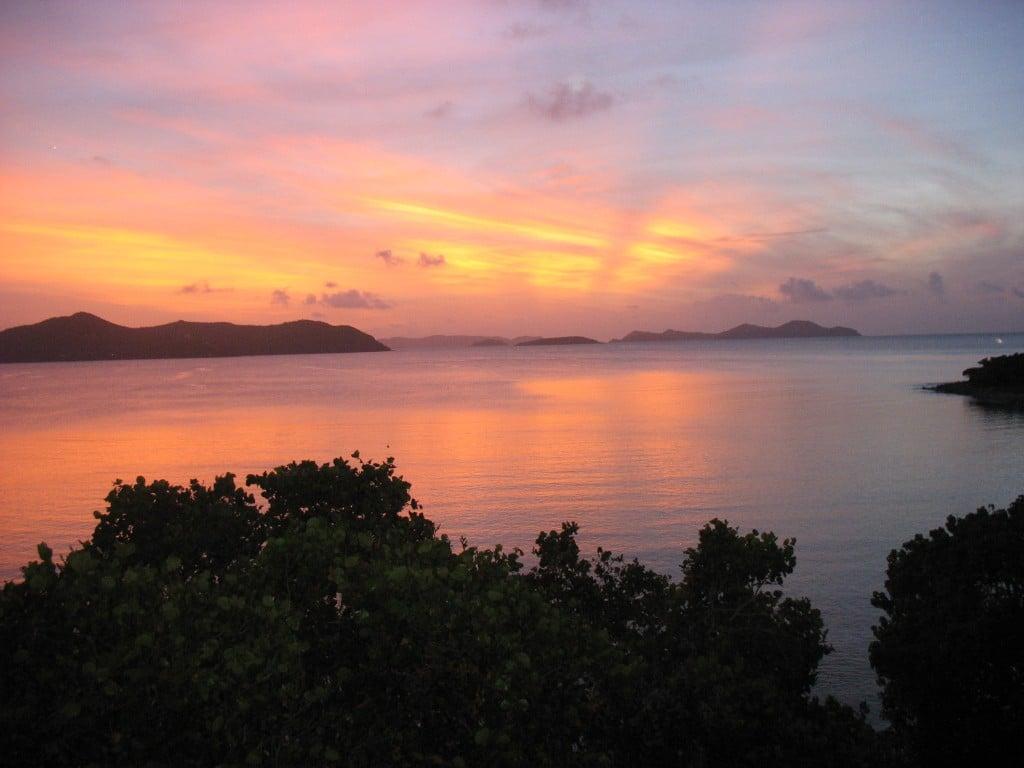 st john vacation rentals Pelican Beach Sunrise