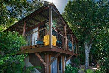 Teahouse Treehouse for St John USVI Long Term Rentals