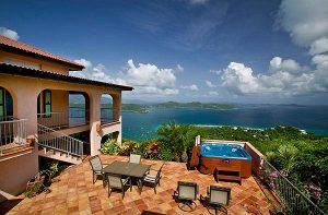 st john virgin islands Villa Ventosa Exterior