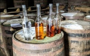 cruzan rum distilling + aging