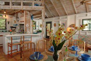 banana cabana interior