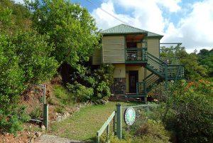 banana cabana entrance