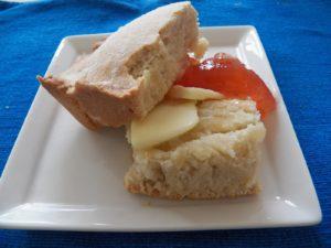 johnny cakes butter jam