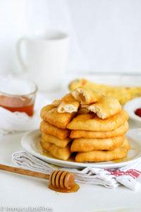 johnny cakes with honey
