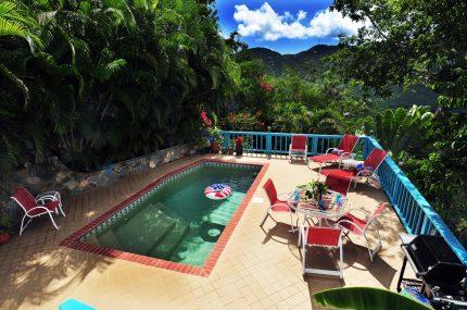virgin islands vacation skyridge pool